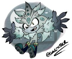 Silver the Werehog by TheEmster97