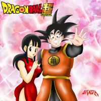 Goku y Milk by dicasty1