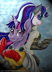 One Punch Pony- MLP/OPM Crossover by Spirit--Productions