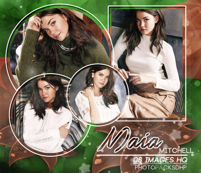 Photopacks -Maia Mitchell 134 by PhotopacksDHP