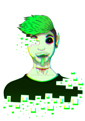 Antisepticeye by robot0artist