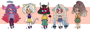Sketch Adopts 6 | ONLY 100Pts or 1,50$ (open) by Super-Gabou