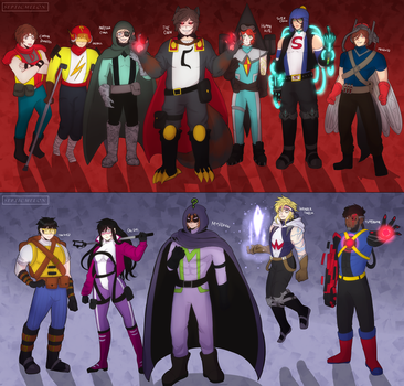 AY THEm HEROS by SepticMelon