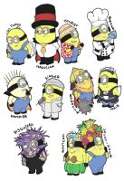 Minion Rush Minions by FeralSonic