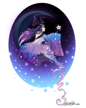 Moon Goddess by QuixoticWhimsy