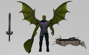 Hulkling (MarvelFF 3D Model) by Pitermaksimoff