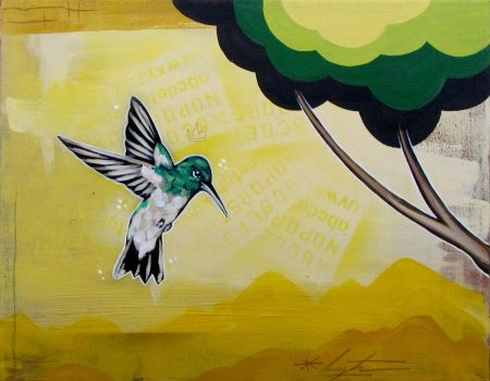 Hummingbird #4 by TetraModal