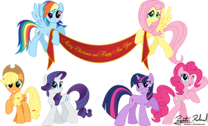 The mane 6 whises you by RatchetHuN