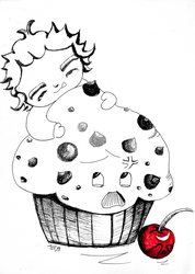 tyler toffoli and the giant muffin by puzzledpixel