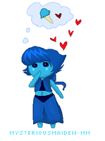 Cute Blue Angel by mysteriousMaiden-MM