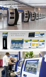 Airline Kiosk Check-in System Design by lordcemonur