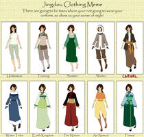 Tuyen - Clothing Meme Update by hyperionwitch