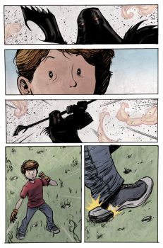 A page from an upcoming comic 6 by gravyboy