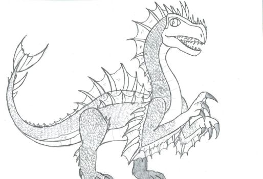 Segnosuchus by Viperwings