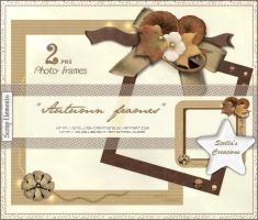 Autumn Frames by Stellas-Creations