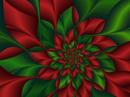 Christmas Flower Extraordinair by Frankief