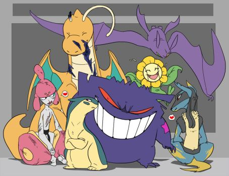 The B-Squad by SpiritHoliday