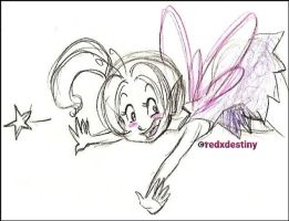A Very Happy Pixie by neoreflection