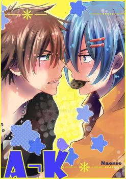 A-K Amour sucre manga cover by Naesse-19