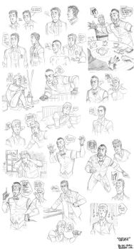 Outlast - sketchs 2 by the-evil-legacy