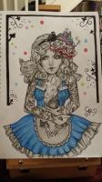 Gothic Alice in Wonderland by Zombie-Roses