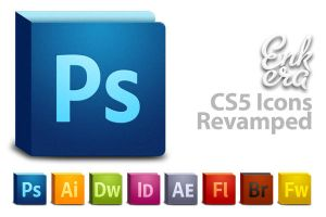 Adobe CS5 icons revamped by PascalPixel