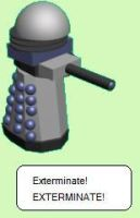 Exterminate, EXTERMINATE by safirediaz