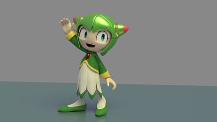 Cosmo Render - We're Nearly There! by ForkTailedDevil