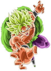 Broly Legendary Super Saiyajin by arbiter720