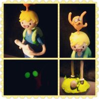 Day 5 Adventure Time Sculpture by Faye-Fox