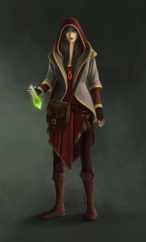 Potion Dealer by jebirvoki