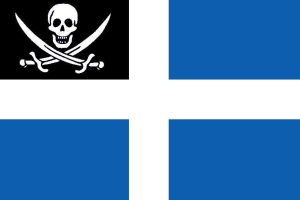 Greek Pirates - Fictional Flag by CaptainVoda