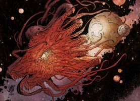 OLDONE Azathoth by JMD3