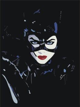 Tim Burtons Catwoman by cherrygirl