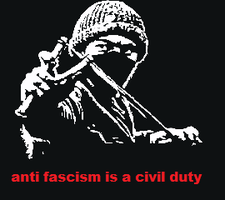 Anti Fascism Is A Civil Duty by sootyjared