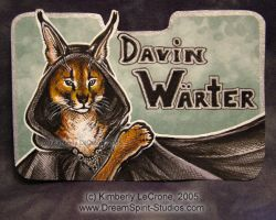 Davin Warter Conbadge Commissi by Dreamspirit