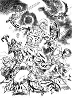 He-Man and the Masters of the Universe by deankotz