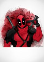 Deadpool by marialatorreart