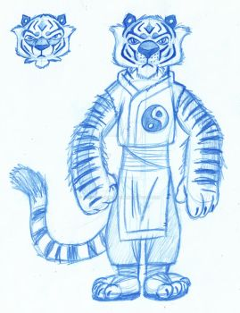Kung Fu Tiger by Animator-who-Draws