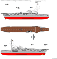 First German Aircraft Carrier (ex-Ausonia) by DG-Alpha