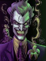 JOKER by Tony Moore - colors by gabcontreras