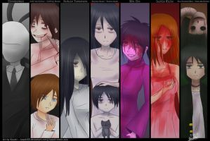 7 Horror Fandoms by kazaki03