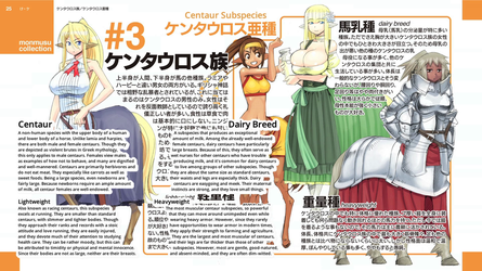 Monster Musume Centaur facts by Fu-reiji