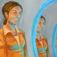 Chell - 66.Portal by yllogic