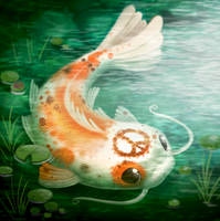 Daily Paint 2090. Pacifisht by Cryptid-Creations