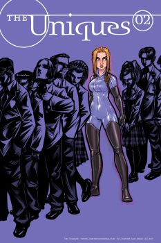 The Unques #2 Cover: Read it FREE by ComfortLove