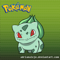 Bulbasaur by adrianalejo