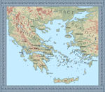 Map of Ancient Greece by mihaly-vadorgrafett
