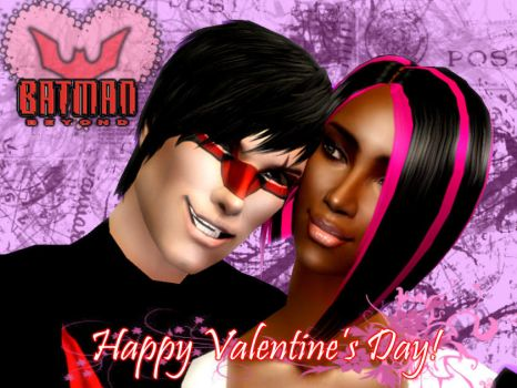 Happy Batmantines Day by BlaqueEssence