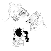 Sketches Commission- Batch 1 by ArthasElric